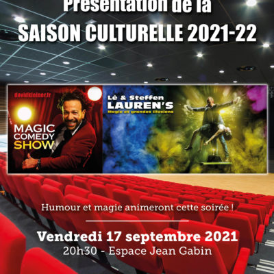 Présentation saison culturelle 2021 2022