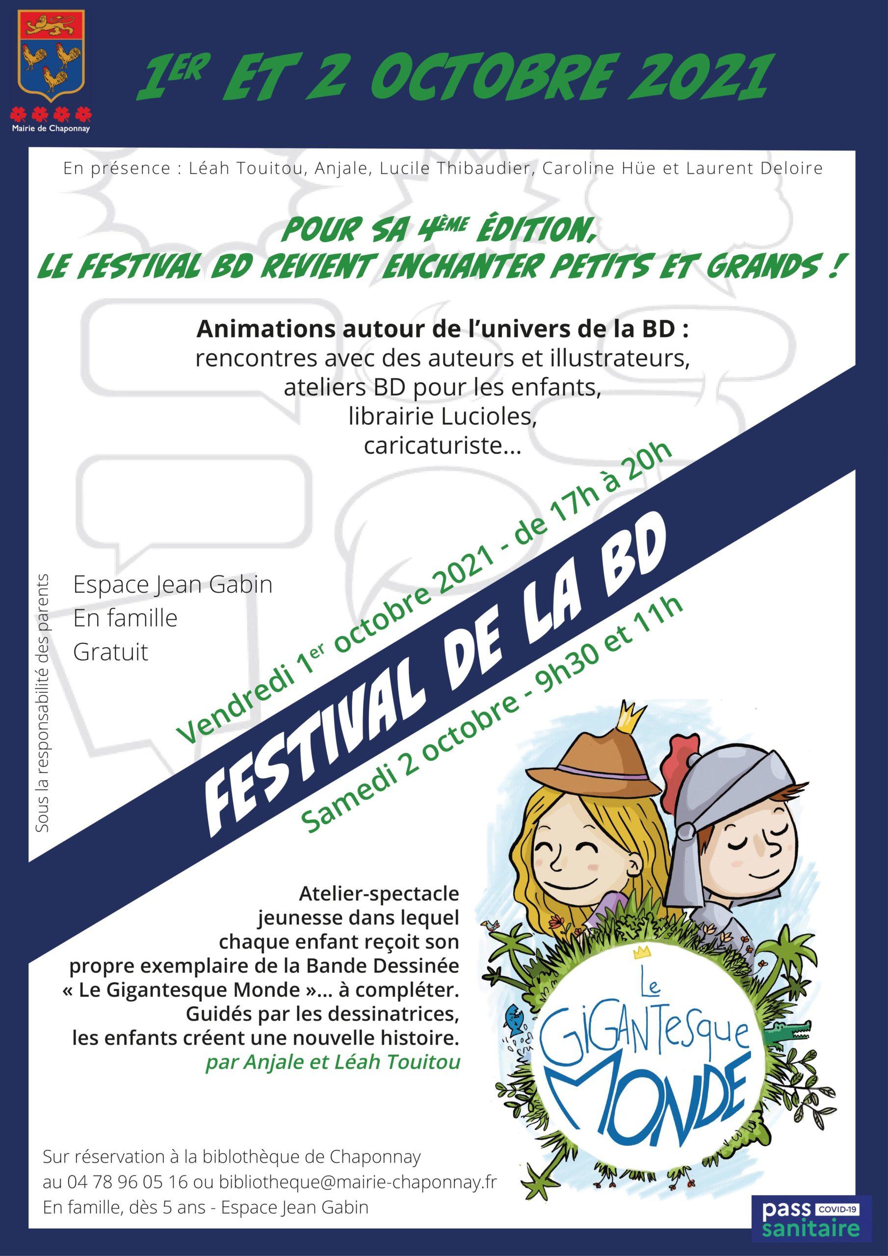 festivale de la bd